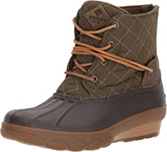 SPERRY Women's Saltwater Wedge Tide Quilted Rain Boot