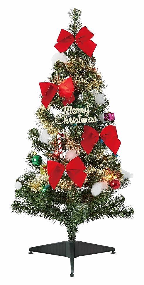 夢モノグラフ句ドウシシャスタンダードセットクリスマスツリーG16-90ST グリーン 90cm
