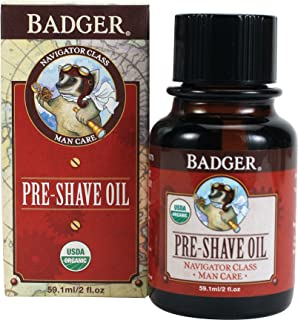 Badger Man Care Pre-Shave Oil - 2 oz