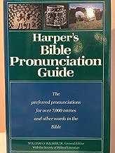 Harper's Bible pronunciation guide