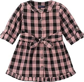 Calvin Klein Girls' Lyocell Denim Shirtdress