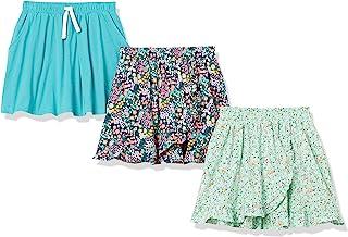 Amazon Essentials Girls Knit Scooter Skirts