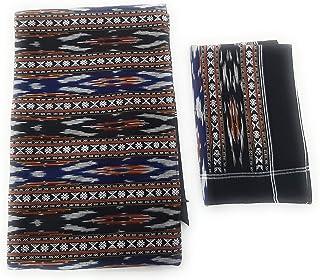 Ikkat India Handloom weaved sambalpuri bedsheets bedcover king size cotton linen double bed sheets3