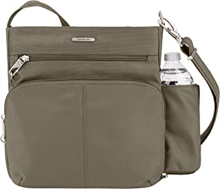Travelon Anti-theft Classic N/S Cross Body Bag, Nutmeg