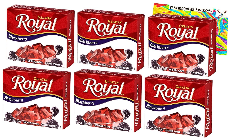 Royal Blackberry Gelatin Jello Columbus Mall Shot Includes Six Bundle 40% OFF Cheap Sale Bundle.