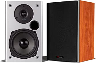 Polk Audio M10 Bookshelf Speaker (Cherry-Pair)