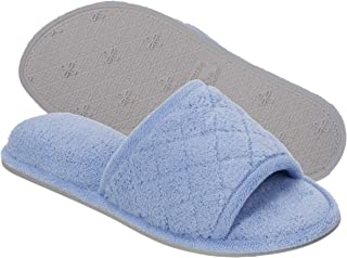 Women's Beatrice Microfiber Terry Slide with Quilted Vamp Slipper