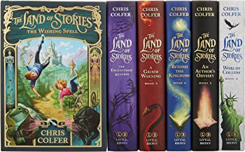 The Land of Stories Complete Hardcover Gift Set