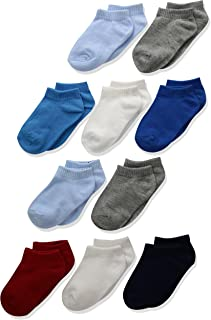 Boys' Toddler Low Cut Sock 10-Pack
