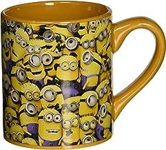 Silver Buffalo DM0132 Despicable Me Cluttered Minions Ceramic Mug, 14-Ounces