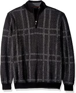Men's Extra Fine Merino Wool Long Sleeve Sweater