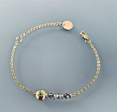 Constellation braccialetto gourmet con pietre Swarovski, braccialetto donna gourmet Pietre naturali magiche Swarovski e pe...