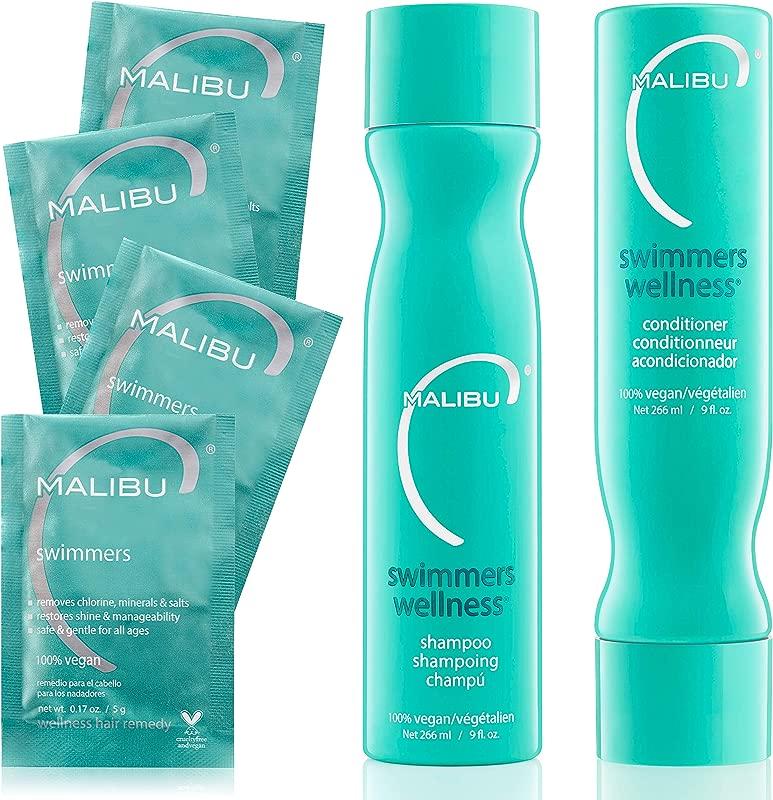 Malibu C Swimmers Wellness Treatment Kit Includes Swimmers Wellness Shampoo
