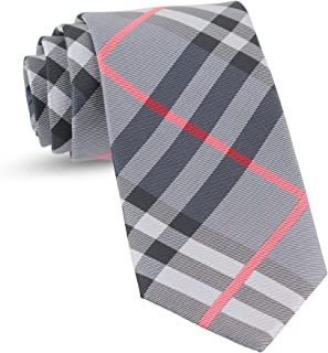 Handmade Plaid Ties For Men Woven Gingham Mens: Tie & Necktie, Neckties Wedding Business