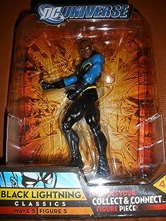 DC Universe Classics Series 5 Exclusive Action Figure Black Lightning Build Metallo Piece!