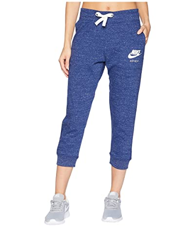 Nike Sportswear Gym Vintage Capri (Blue Void/Sail) Women