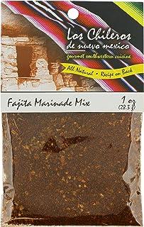 Los Chileros Fajita Marinade Mix, 1 Ounce (Pack of 12)