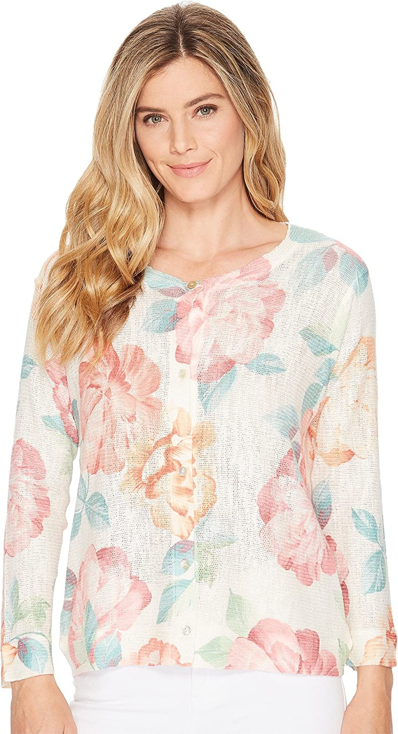 Nally & Millie Womens Floral Cardigan