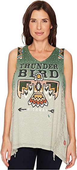 Double D Ranchwear - Thunderbird Highway Tank Top