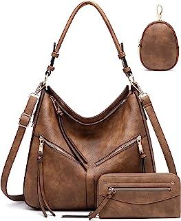 Hobo Bags for Women Handbags Purse Ladies Boho Shoulder Bag Crossbody Purses Vegan Leather