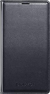 Samsung Tapa Desplegable Wallet para Galaxy S5, color Negro