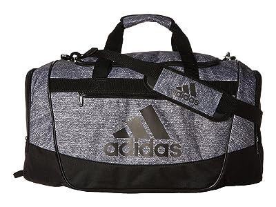 adidas Defender III Medium Duffel (Onix Jersey/Black) Bags