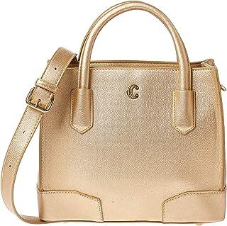تشارمينغ تشارلي حقيبة للنساء-ذهبي - حقائب كبيرة توتس