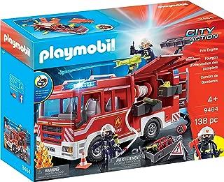 Playmobil- Camión de Bomberos Juguete, (geobra Brandstätter 9464)