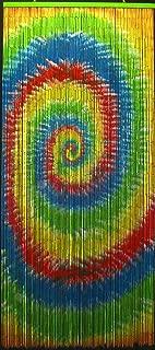 Tie Dye Beaded Curtain 125 Strands (+hanging hardware)