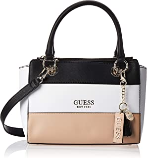 Guess Womens Satchels Bag, Tan Multi - VT767206