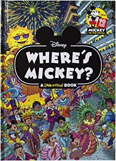 Disney - Where's Mickey - A Look and Find Book Activity Book - PI Kids
