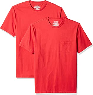 Men's 2-Pack Slim-Fit Short-Sleeve Crewneck Pocket T-Shirt