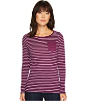 U.S. POLO ASSN. - Striped Pocket T-Shirt with Lace Detail