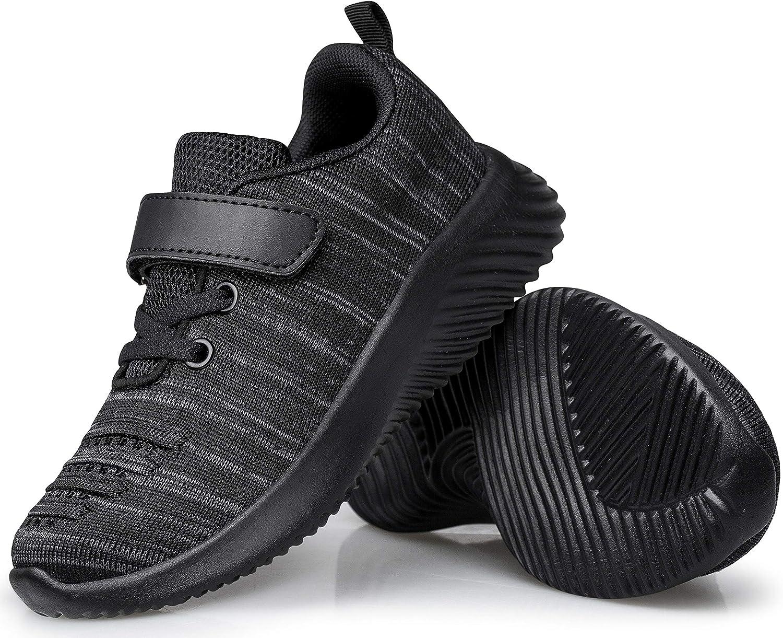 Wonvatu Toddler Little Kid Sneakers Boys Girls Cute Strap Walking Athletic Running Sports Shoes