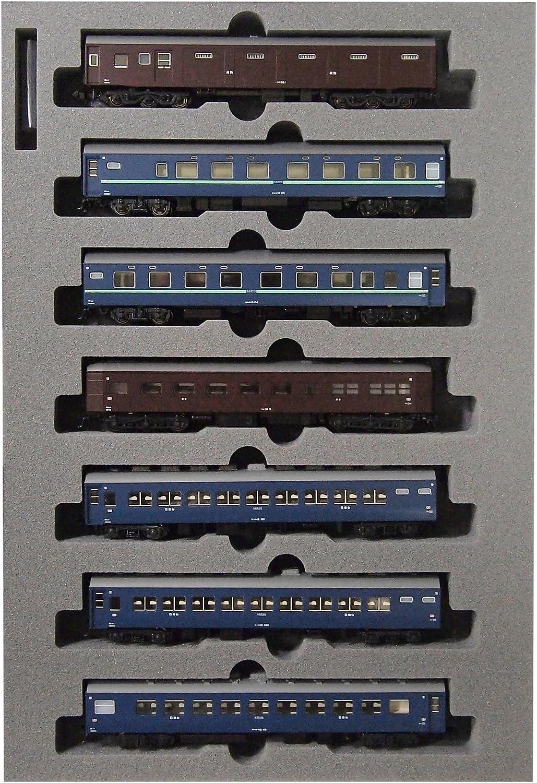 N gauge 101302 10 system sleeper express  Aki  1967 7 Car Set Special goods