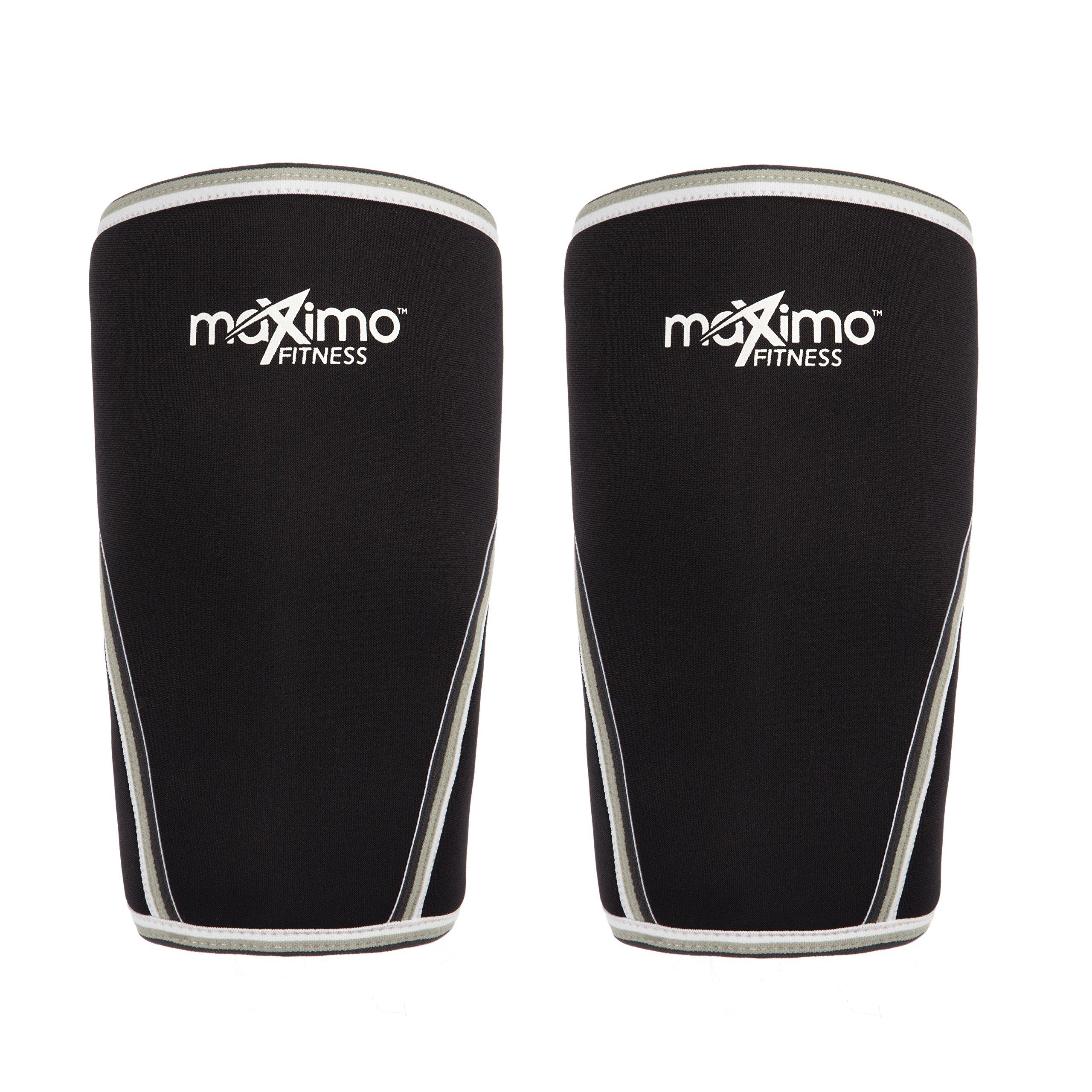 5mm Neoprene Compression Knee Sleeves Gym Weightlifting Powerlifting Fitness