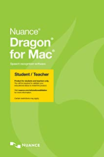 Dragon for Mac 5.0, Student/Teacher Edition, English [Download]