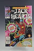 THE JACK OF HEARTS #1 MARVEL COMICS BOOK 1983