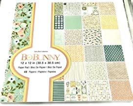 Bo Bunny Early Bird Collection 12 x 12 Paper 48 Papers 7310526