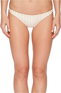 O'Neill Highway Stripe Twist Tab Side Bikini Bottom