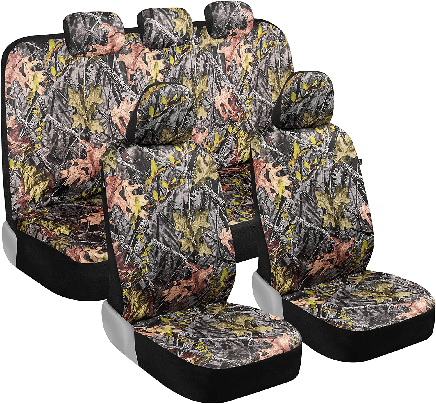 BDK Camo Car Seat excellence Covers Full Green Set – Realistic Forest Limited time cheap sale