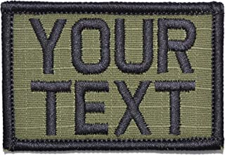 Customizable Text Patch - 2x3 Morale Patch - Olive Drab