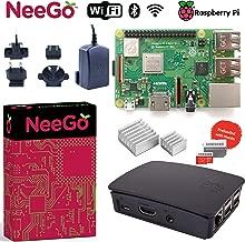 NEEGO Raspberry Pi 3 B+ (B Plus) Desktop Starter Kit 32Gb (Includes Original Accessories) Black
