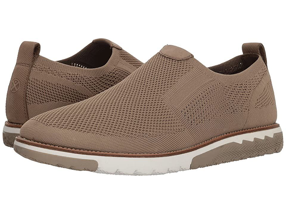 Hush Puppies Expert MT Slip-On (Taupe Knit/Nubuck) Men