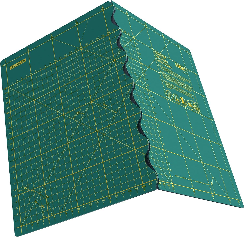 OLFA fcm-a2 – Bügeleisen, klappbar, 630 x 450 x 2.5 mm) grün B01GE4SJX0       Erste Klasse in seiner Klasse