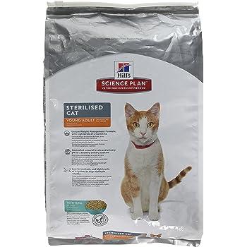 Hills Feline Young Adult Sterilised Cat Tuna Comida para Gatos - 3500 gr: Amazon.es: Productos para mascotas