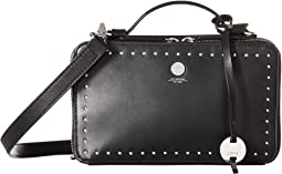 Pismo Stud RFID Sally Zip Around Crossbody