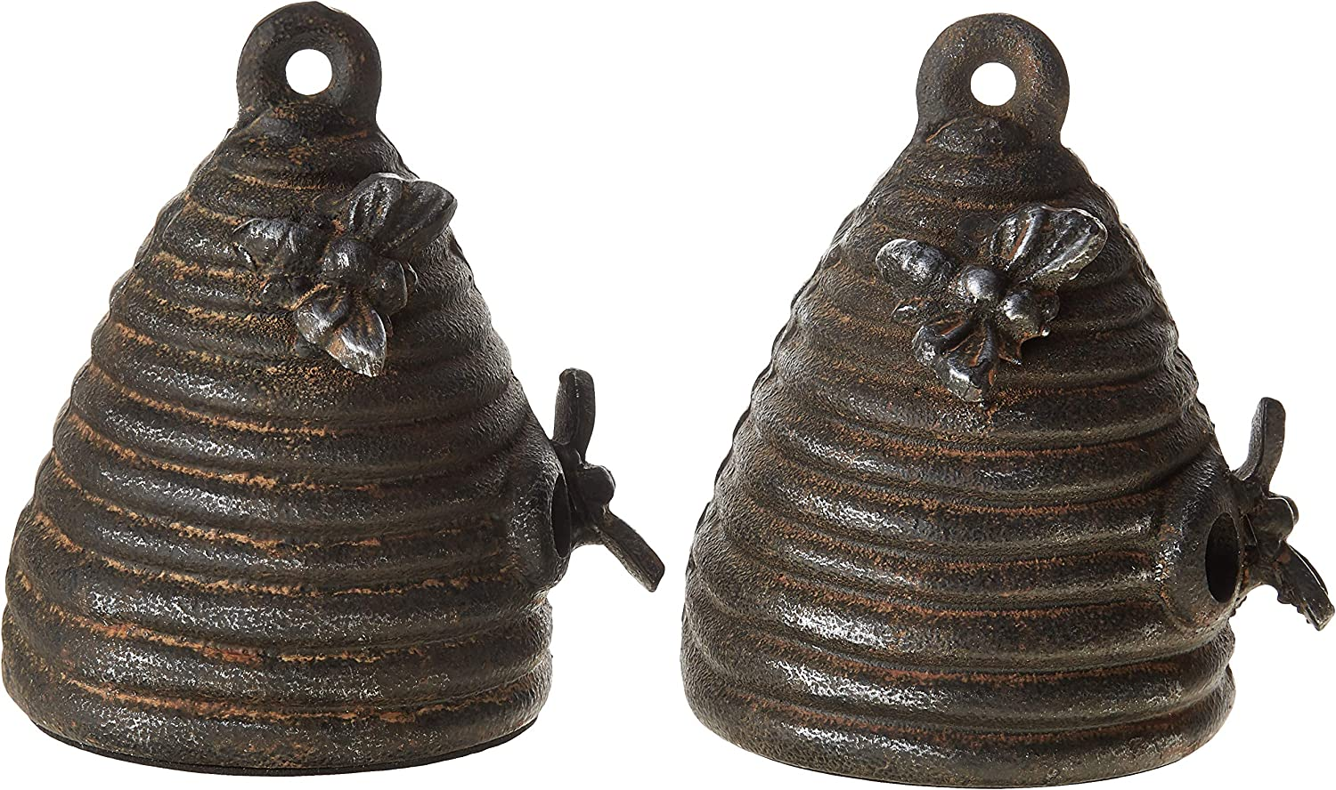 Creative Co-Op Cast Iron High order Ranking TOP17 Beehive Set Bookends Bla of 2 Pieces