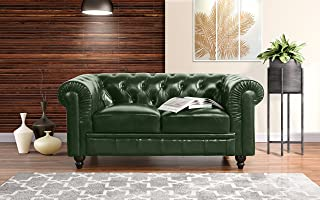 Leather - Green Sofas & Couches | Furniture | Home & Kitchen ...