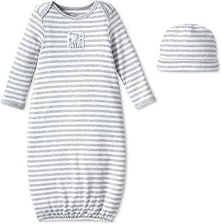 Lamaze Baby Organic Essentials 2 Piece Hat and Gown Set